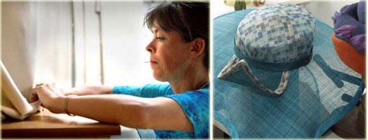 hoeden atelier Foto: M&C-VU/Daan van Eijndhoven en Iwan Szomoru