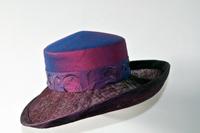 hoeden atelier zijde hoed